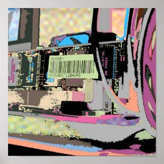 コンピュータ回路 ポスター