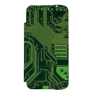コンピュータ板 INCIPIO WATSON™ iPhone 5 ウォレット ケース