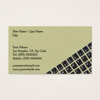 コンピュータ業界カード 名刺