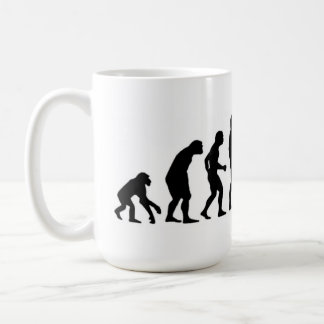 コンピュータ進化 コーヒーマグカップ