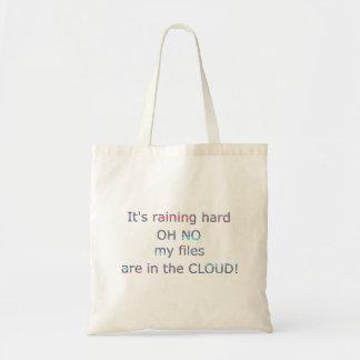 コンピュータ雲の冗談 トートバッグ