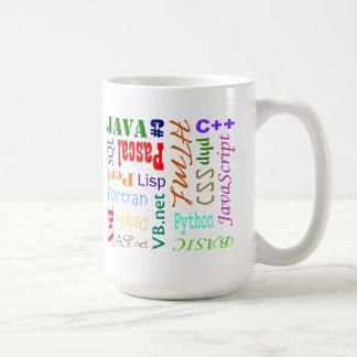 コンピュータ・プログラマーのマグ コーヒーマグカップ