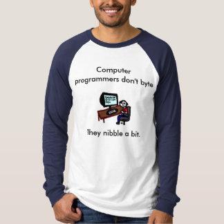 コンピュータ・プログラマーはバイト Tシャツ
