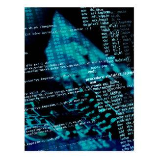 コンピュータ・プログラミング ポストカード
