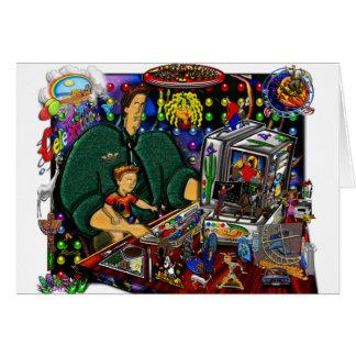 コンピュータIの父そして息子 カード