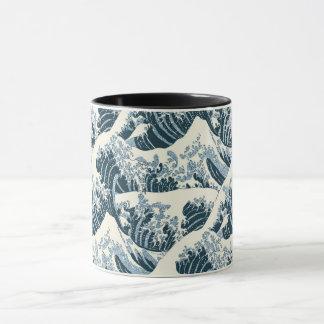コンボのマグ- Hokusaiの波 マグカップ