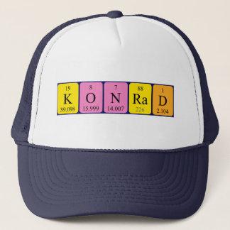 コンラートの周期表の名前の帽子 キャップ