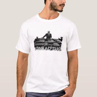 コンラートZuse (軽い背景) Tシャツ
