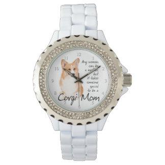 コーギーのお母さんの腕時計 腕時計