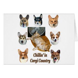 コーギーの国のChillin カード