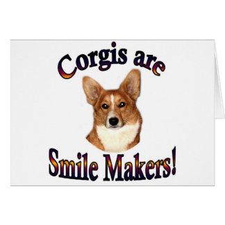 コーギーはスマイルメーカー- Pippinです カード