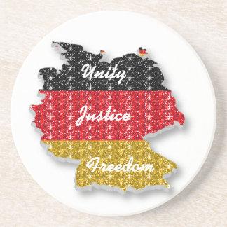 コースターのドイツの単一性の正義の自由 コースター