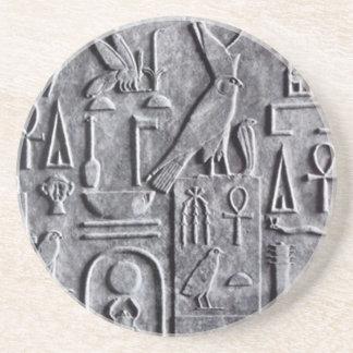 コースターのヴィンテージのエジプト学のエジプトのankhの十字 コースター