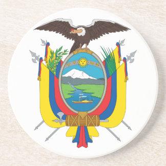 コースターエクアドルの紋章付き外衣 コースター