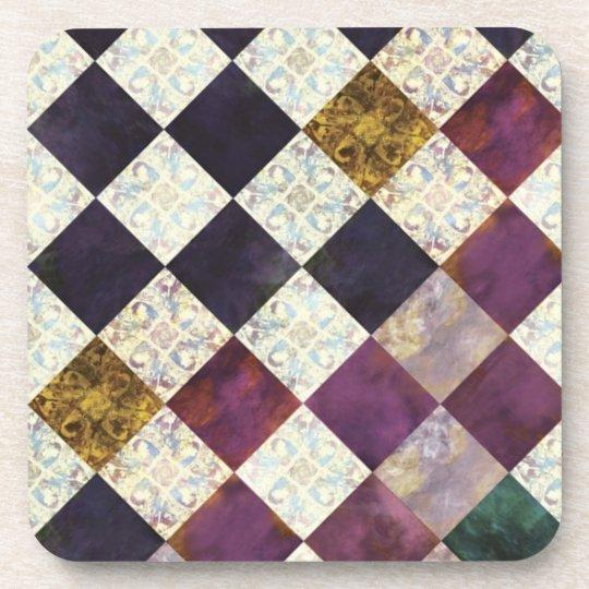 コースター-mosaic purple コースター