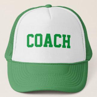 コーチのトラック運転手の帽子{緑} キャップ