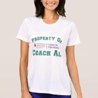 コーチのAlの特性 Tシャツ