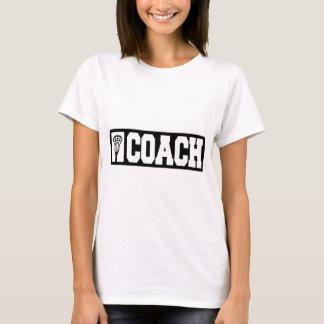 コーチ-ラクロスのコーチ Tシャツ