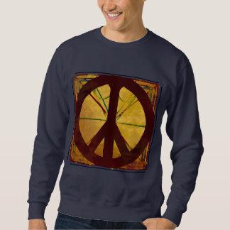 コーデックスのピースサインのヴィンテージの芸術のワイシャツ スウェットシャツ