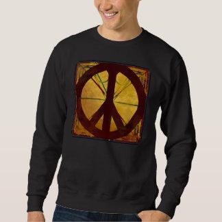 コーデックスのピースサインのDa Vinciのヴィンテージ スウェットシャツ