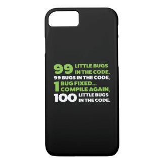 コードの99匹の虫… iPhone 8/7ケース