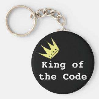 コードキーホルダーの王 ベーシック丸型缶キーホルダー