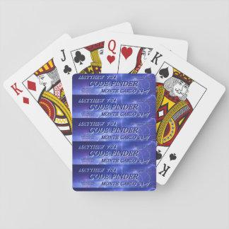 コードファインダー: カードを遊ぶこと トランプ