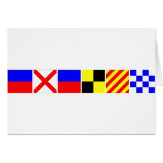 コード旗エヴァリン カード