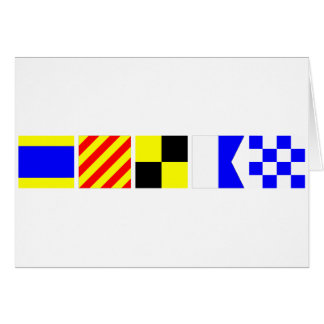 コード旗ディラン カード