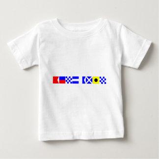 コード旗ベンジャーミン ベビーTシャツ
