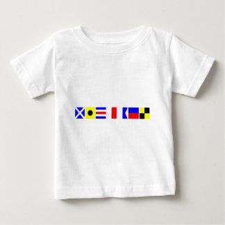 コード旗ミハエル ベビーTシャツ