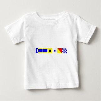 コード旗Addison ベビーTシャツ