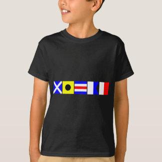 コード旗Micah Tシャツ