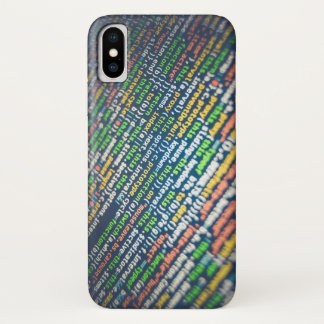 コード iPhone X ケース