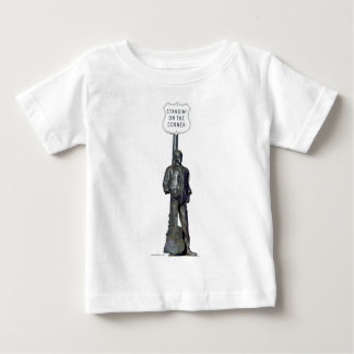 """""""""""コーナーのStandin! Winslow Arizon ベビーTシャツ"""