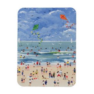 コーニッシュのビーチ マグネット