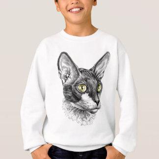 コーニッシュのレックスのスケッチ スウェットシャツ