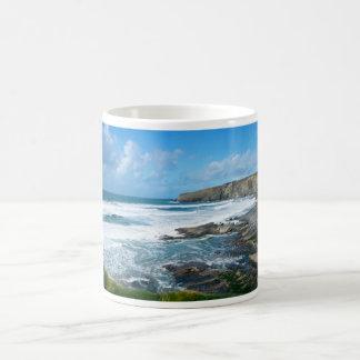 コーニッシュの海岸2 コーヒーマグカップ