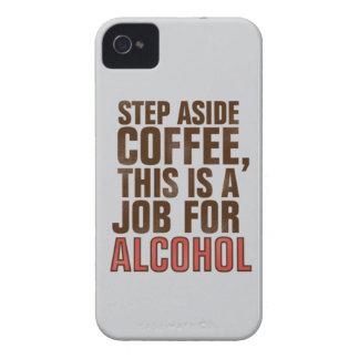 コーヒーおよびアルコール Case-Mate iPhone 4 ケース