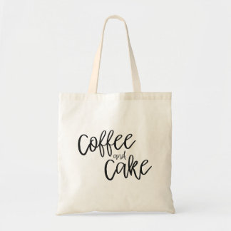 コーヒーおよびケーキのトートバック トートバッグ