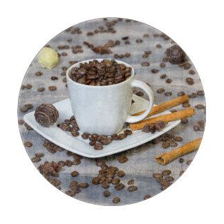 コーヒーおよびスパイス カッティングボード