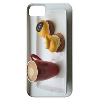 コーヒーおよびデザート iPhone SE/5/5s ケース
