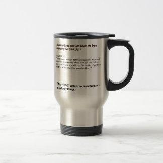 コーヒーおよび質問 トラベルマグ