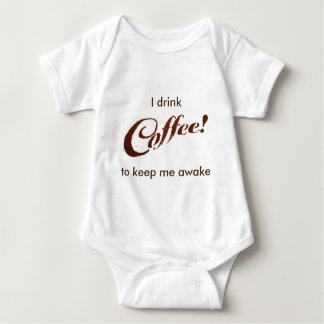 コーヒーかすのコーヒー-用品類 ベビーボディスーツ