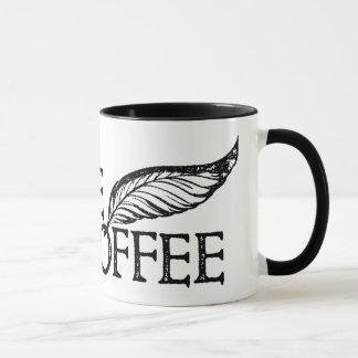 コーヒーかないコーヒーシェークスピアのスタンプ マグカップ