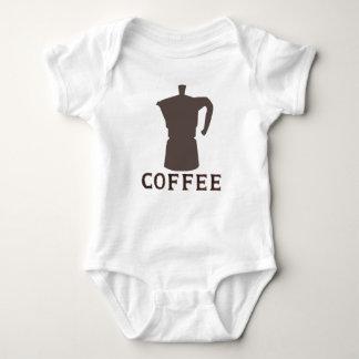 コーヒーか。か。 ベビーボディスーツ