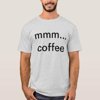 コーヒーが付いているワイシャツ Tシャツ