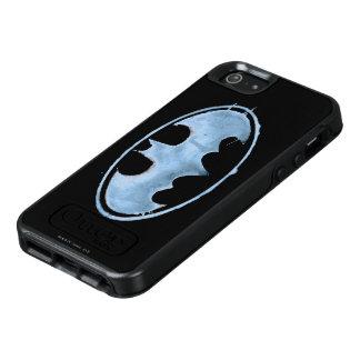 コーヒーこうもりの記号-青 オッターボックスiPhone SE/5/5s ケース