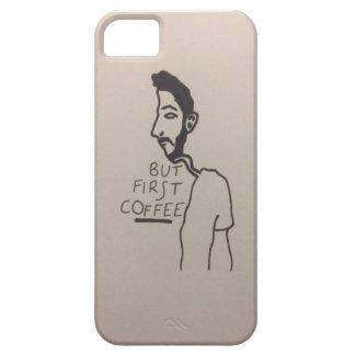 コーヒーについて常に考えます iPhone SE/5/5s ケース