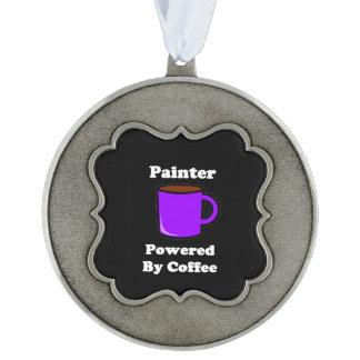 """コーヒーによって動力を与えられる""""ペインター"""" オーナメント"""